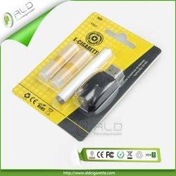Wholesale Alibaba Manufacturer China Good Quality E-Cigarette with 2pcs Cartomizer