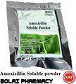 Antibacteriano en polvo polvo soluble amoxicilina 10%