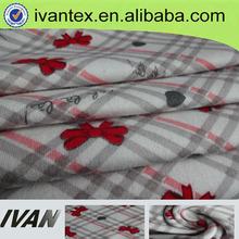 Fashion new design pretty jersey 100% printed cotton fabric