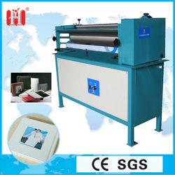 Stick paper cardboard latex machine