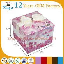 fancy custom packaging sweet box for weddings