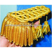 1800 Century Ceremonial Shoulder Board gold fringe tassel | Rank Shoulders | Shoulder Marks & Epaulettes