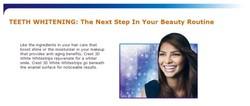 Dental Whitening strips Crest 3D Whitestrips Advanced Vivid teeth whitening strips