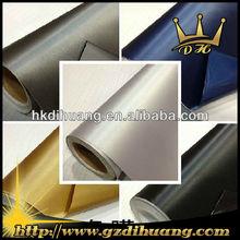 New automotive part PVC reflective brushed aluminum film