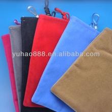 Velvet drawstring bag mobile phone bags & cases OEM/ODM Manufacturer supply