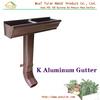 """Best seller--5"""" K Aluminum Gutter-- K Style Aluminum/Copper Gutter&Downspout System"""