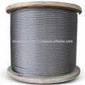 de acero de cuerda de alambre del carrete