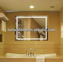 High quality Holand mirror with LED light for bathroom wet location
