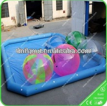 Inflatable swimming water pool /inflatable pool with cartoon roof