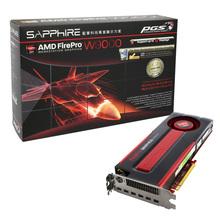 AMD FirePro W9000 6gb 384 bit GDDR5 ECC PCIe 3.0 x16 mini DP 3D professional graphic card