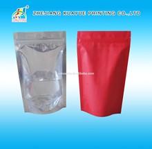 2015 New Durable Flat Bottom Ziplock Bag, A4 Ziplock Plastic Bag, Ziplock Cooler Bag