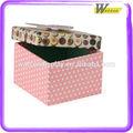 2014 inovadora boa qualidade colourblock retangular da caixa de presente de papel rígido caixa de presente de luxo caixa