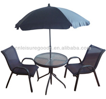 Metal small set garden furniture for kids
