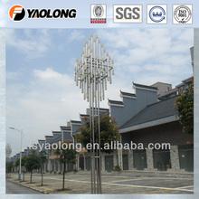 Tapered Aluminum Lamp Pole