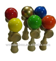 Colorful Japanese Traditional Wooden Kendama Toy 2014