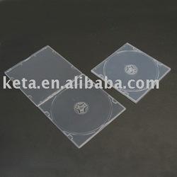 5.2mm slim PP CD Case single clear