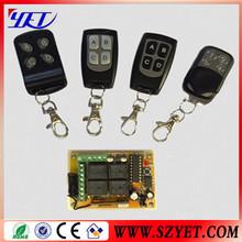 universal garage door remote control 433mhz YET026