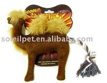 Pet Toy - plush pet toys for dog-Dog toy safari world collection- camel P3396