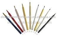 retrctable lip brushes free samples,professional makeup cosmetic lip liner brushes free samples,make up nail art brushes
