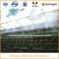Solid Sodium Silicate Glass Molding Machine