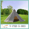 Cotton Canvas Tipi Roof Tent