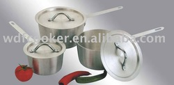 6pcs cast aluminum cooking pot