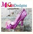 Nuevo diseño de arte venta al por mayor y OEM de tacón alto zapato en forma de caja de ahorro caja mágica para regalo de la muchacha
