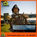 parque de diversões itens de decoração pirata animatronic modelo
