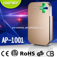 Low consumption 99.97% True HEPA Filter AP1008 Home Air Purifier(air cleaner)