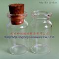 10ml botella de vidrio con corcho