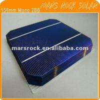 156mm Monocrystalline Solar Cell 4W (2 Busbar)