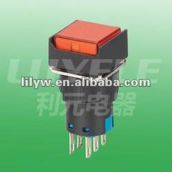 LA16-4FL DPDT 16mm pushbutton switch