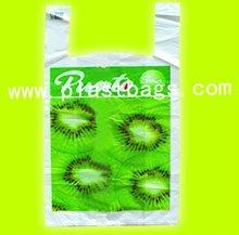 HDPE biodegradable plastic vest carrier bags