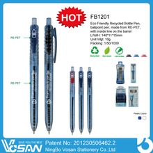 Eco-friendly Bottle Pens And Promotional Recycled PET Pen