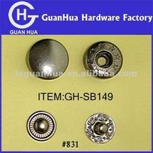 15MM Copper press button garment buttons