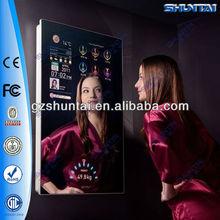 37 inch wall mounted magic tv mirror