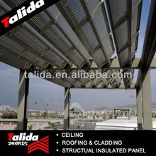 Electric Perforated Aluminum Louvers, Aeroscreen Aluminum Louver Panels