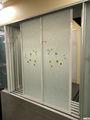 vidro porta de correr com moldura de alumínio