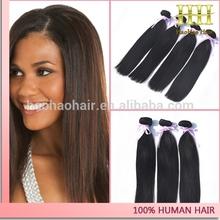 Top quality natural color no tangle shedding free virgin brazilian wholesale hair