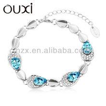 OUXI wholesale charm italian 925 sterling silver bracelet 30197