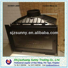 Good Quality Black Cast Iron Wood Burning Fireplace,heating area90-300sqm