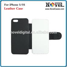 Sublimation leather phone case for i Phone5