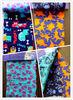 big flower printed cotton flannel / cotton fabric/ patchwork
