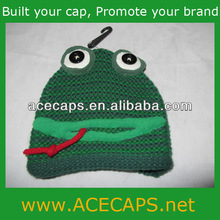 Animal knitted hat child