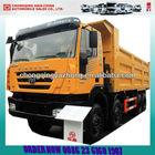 Saic Iveco Hongyan New KINGKAN 8X4 Dump Truck yellow color