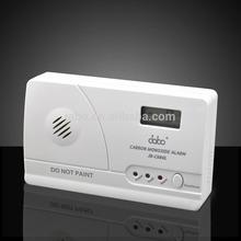 Carbon Monoxide Alarm with LCD Displayer, EN 50291-1:2010+A1:2012 certified