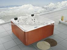 Monalisa 4 seats acrylic outdoor spa hot tubs