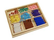 Montessori materials-Checker Board Beads