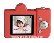 mini digital camera 1.44 inch TFT LCD toy camera 0.3 Mega Pixels kids camera support TF Card and digital zoom