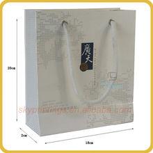 Chief white transparent paper bag